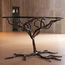 wrought iron tree table base for top rt facts