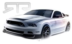 2013 ford mustang gt parts vaughn gittin jr previews his 2013 ford mustang rtr mustangs daily
