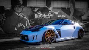 nissan 370z custom body kit ead1 builds