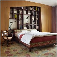 Bookcase Bedroom Sets Luxury Bookcase Headboard King Bedroom Set 11 For Leather King