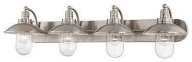 Felix 4 Light Cage Vanity - glamorous 20 bathroom vanity lights industrial decorating