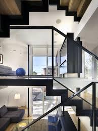 Split Level Designs Living Space Split Level House In Philadelphia By Qb Design