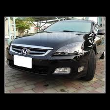 Honda Accord Lights For 2003 2007 Honda Accord Led Halo Projector Headlights Black