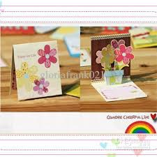 cheap 3d mini greeting card birthday card thank you card