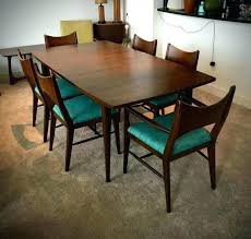 Century Dining Room Tables Mid Century Modern Dining Table And Chairs Mid Century Modern