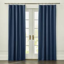 Blue Window Curtains Curtain Panels And Window Coverings Crate And Barrel