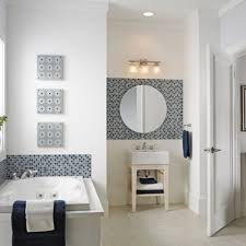 Bathroom Wall Mirror Ideas Bathroom Custom Frameless Mirror Floating Mirror Home