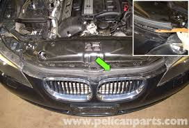 bmw e60 5 series xenon headlight replacement 2003 2010 pelican