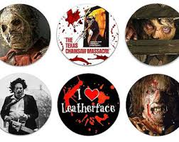 Texas Chainsaw Massacre Halloween Costume Chainsaw Pins Etsy