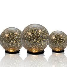mercury glass ball lights led glass ball led glass globe for christamas x mas decorations