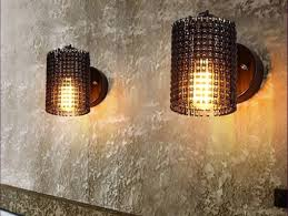 Nautical Wall Sconce Indoor Lighting Wooden Materials Based Rolling Long Style Steel Edition