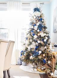 Christmas Tree With Blue Decorations - 25 unique blue christmas decor ideas on pinterest christmas