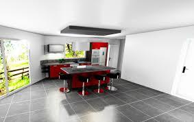 modele cuisine avec ilot exceptional modele cuisine ilot central 8 ma troisi232me maison