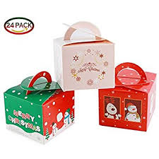 amazon com 3d christmas gift boxes with bow party favor u0026 goody
