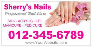 nail salon banner 102 spa and fashion banner templates design