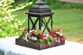 Lantern Centerpieces Wedding Flowers From Springwell Lantern Centerpiece Design For