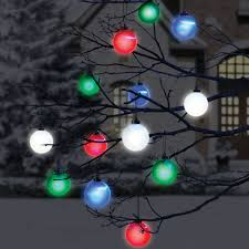 Lighted Snowflakes Outdoor by Cordless Outdoor Lighted Ornaments The Green Head