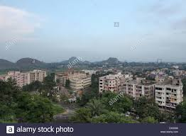 aerial view of ranchi city from tagore hill ranchi jharkhand