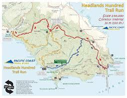 Michigan Lighthouse Map by Headlands Endurance Run 100 Miler September 12 13 2015