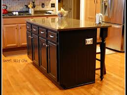 How To Build A Kitchen Island Cart Diy Kitchen Island From Base Cabinets 10 Modest Kitchen Area