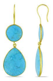 turquoise drop earrings turquoise drop earrings bumping hanger