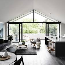 modern vaulted ceiling style no fuss no muss simple clean and