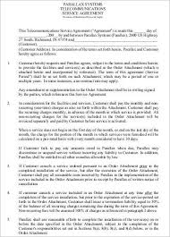 agreement for services template terms of service agreement