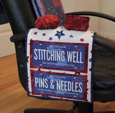 Armchair Sewing Caddy Pattern Hand Sewing Caddy Pattern With Large Pockets Pincushion And