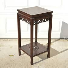 Mahogany Side Table Vintage Hepplewhite Style Mahogany Side Table Ebth
