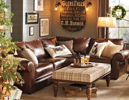 Pottery Barn Leather Couches Best 25 Leather Living Room Furniture Ideas On Pinterest Brown