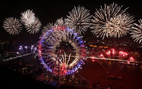 which country celebrates new year and where is the
