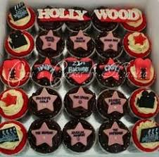 my 40th birthday hollywood themed cupcake tower my cakes