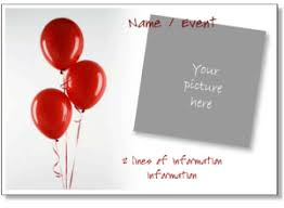 birthday invitation templates printable birthday party invitation templates to add your photo to