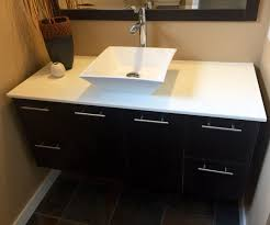 Adapt Vanity How To Install A Wall Hung Vanity 5 Steps With Pictures
