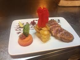 ristoro la dispensa petto d anatra con riduzione di porto flan di rapa rossa e patate