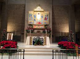 church altar decorations decorating the church for christmas episcopal church of the