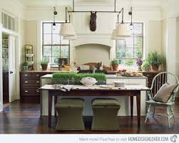 Small Kitchen With Island Attached Reliefworkersmassagecom - Kitchen island with table attached