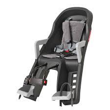 siege pour velo siège arrière bébé vélo sur cadre guppy maxi polisport