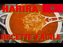 recette de cuisine marocaine facile harira soupe marocaine recette facile cuisine marocaine
