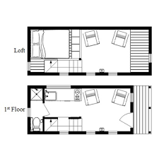 small home floor plans with loft the mcg tiny house with staircase loft photos and plans