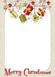 merry photo frame with gifts gallery