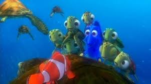 finding nemo images marlin dory riding turtle