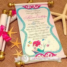 sweet 16 scroll invitations simply fab u0026 chic