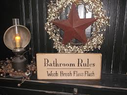 stunning primitive ideas kitchen ideas bathroom delightful primitive country rustic wood hanging outhouse sign bath room decor picture fresh