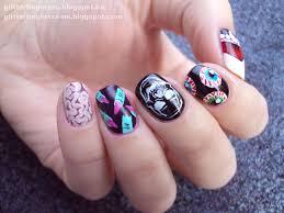 nail art halloween mix u0027n u0027 match glitterfingersss in english