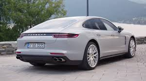 porsche 2017 4 door 2017 porsche panamera turbo detailed in a trio of colors