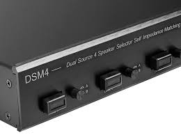 dual zone home theater receiver dsm4 dual source 4 zone speaker selector high performance with