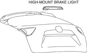High Mount Brake Light Mazda Cx 5 Service U0026 Repair Manual High Mount Brake Light
