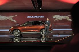 ford edge crossover ford edge makes its european debut at the paris motor show live