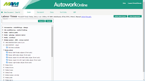 garage management software image gallery autowork online mam software autowork online garage management software repair times database